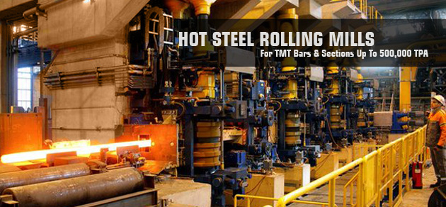 Steel Rolling Mill Plants